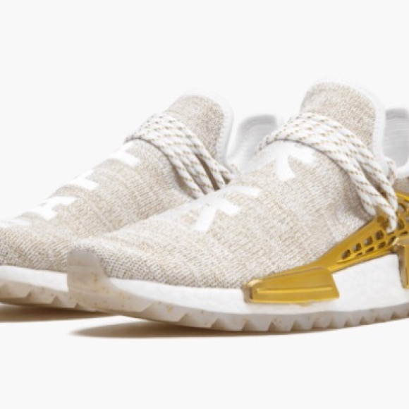 brand new 34d61 77281 adidas Other - Adidas Pharrell Williams Hu Holi NMD Mc Gold Happy